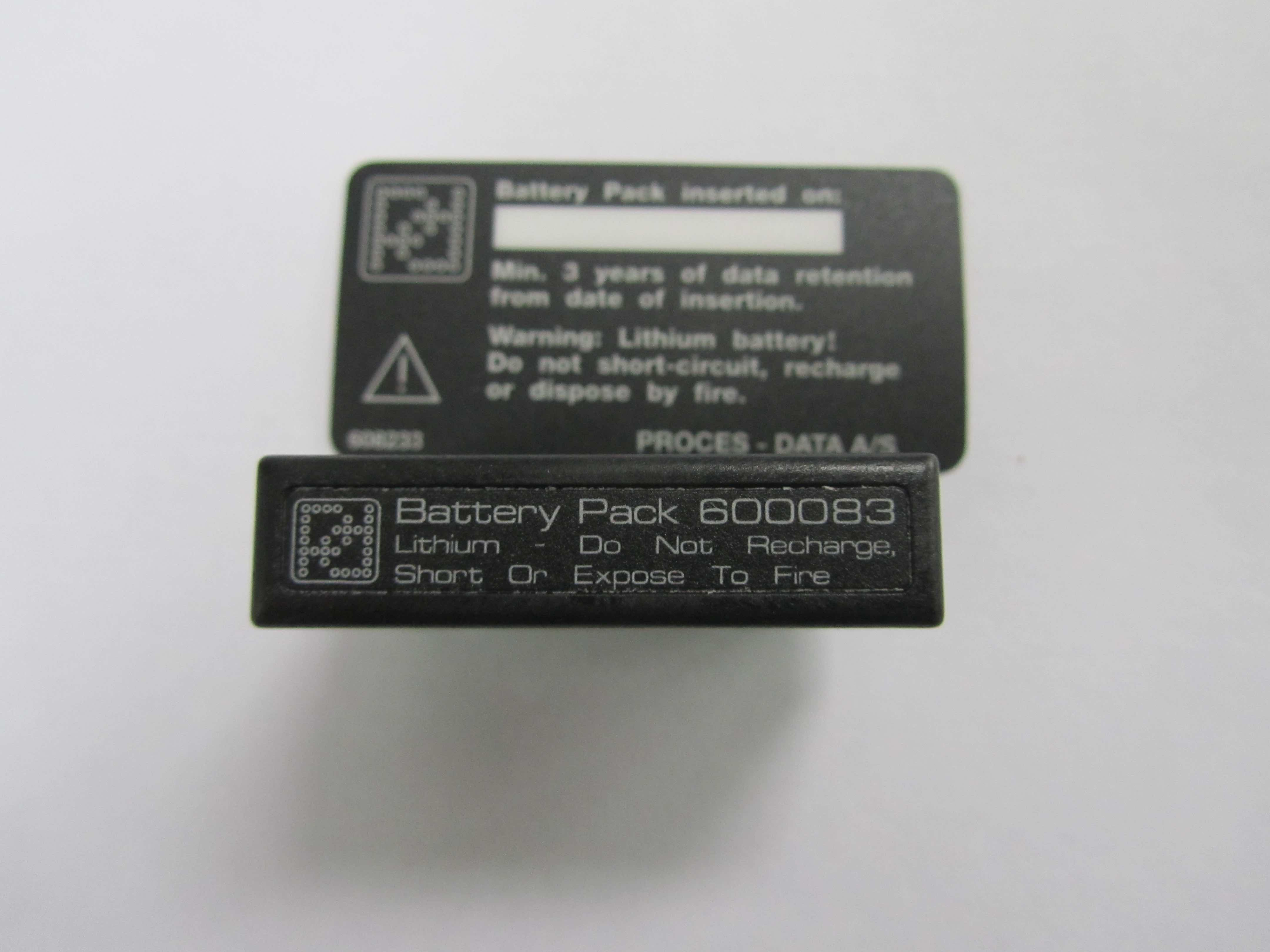 PD 5010 Battery Back up, Part # 600083