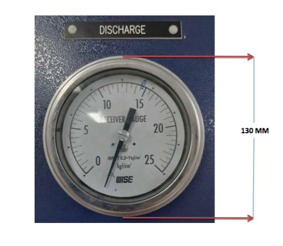 G112-3081 Discharge Gauge
