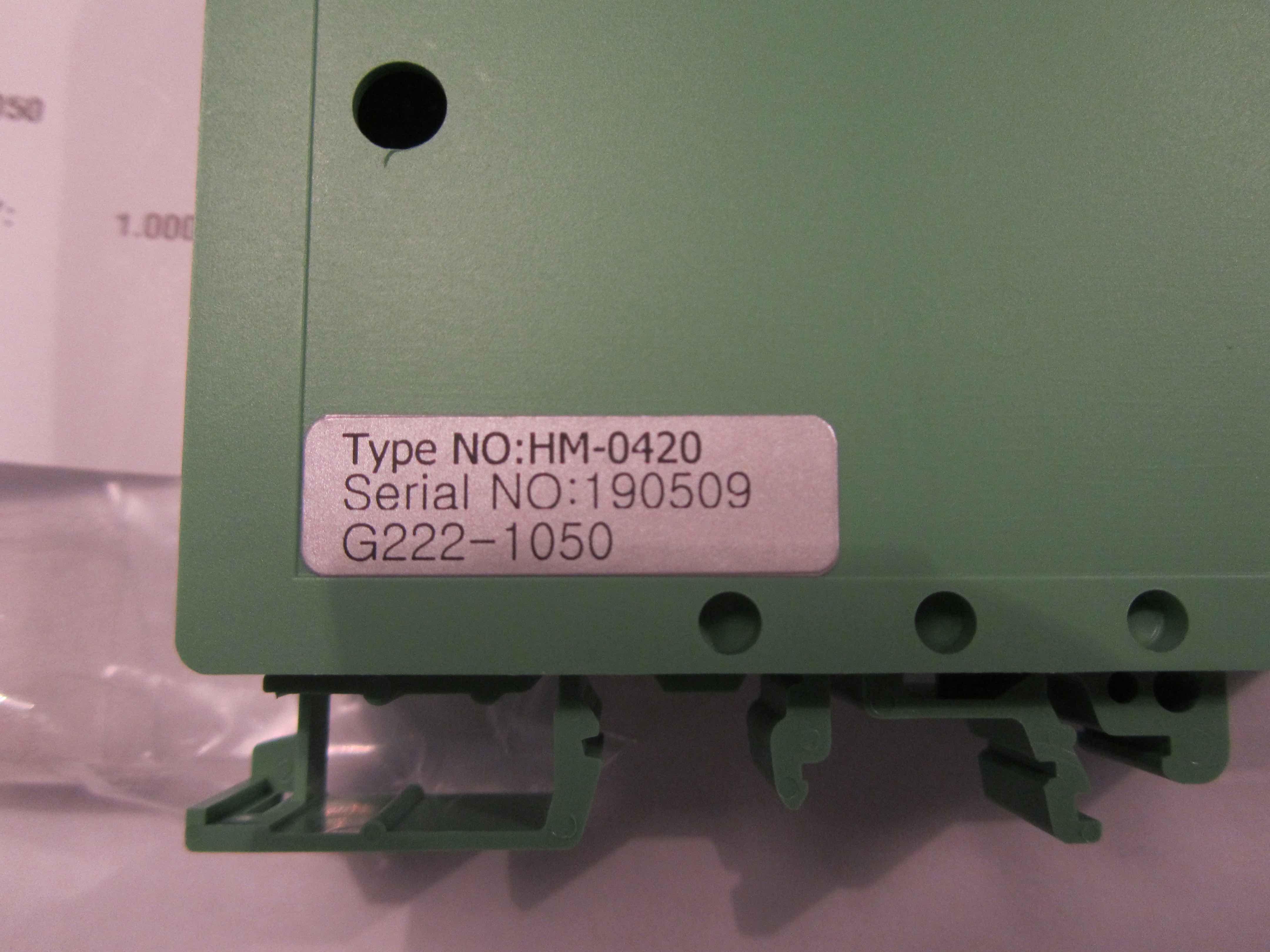 Type No- HM-0420 G222-1050
