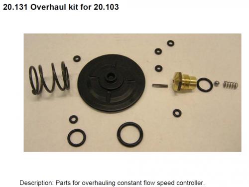 20.131 Overhaul kit for 20.103