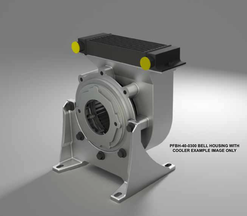 PFBH-40-0300 BELL HOUSING WITH COOLER